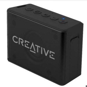 altavoces  creative  muvo 1c negro  bluetooth bateria resist al agua