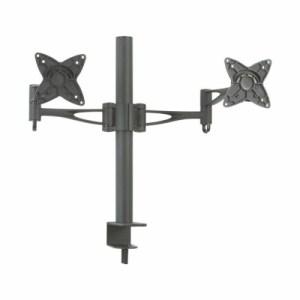 soporte de mesa monitor/tv  gira inclin 2 brazos 13-23 negro tooq db1223tn-buc