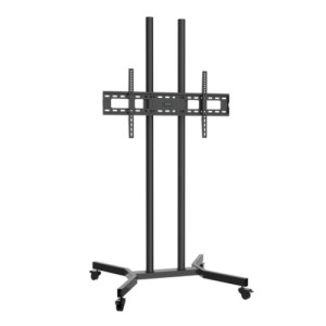 soporte de suelo con rueda monitor/tv 37-70 negro tooq fs1570m-b