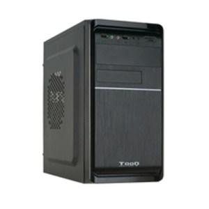 caja  micro-atx semitorre tooq tqc-4735u3c-b(fuente 500) usb 3.0 negra