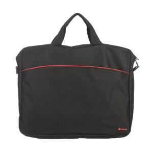 bolsa portatil  15.6 ngs monray enterprise  nylon negro y rojo