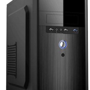 caja  micro-atx semitorre pc case mpc-24  con (fuente ep500) 2 usb 3.0