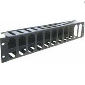guia de 2u armario rack cable con tapa 3060002-2