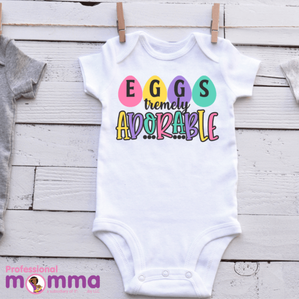 Eggstremely Adorable Baby Shirt