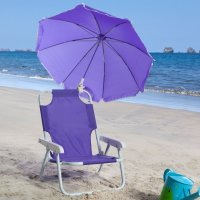 Personalized Kids Beach Chair Package - Purple Pumpkin Gifts