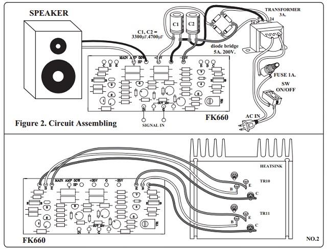 50 Watt Mono Power Amplifier Kit QKits Electronics Store
