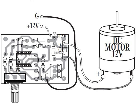 1.5 Amp DC Pulse Width Modulator Control Kit QKits