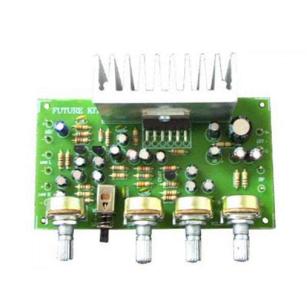 Headphone Amplifier With Tda2004