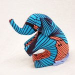 Small Elephant Fabric Animals