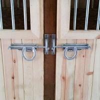 Locking Style Horseshoe Latch   RAMM Horse Fencing & Stalls
