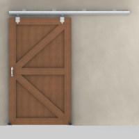 Sliding Door Track Hardware   RAMM Horse Fencing & Stalls