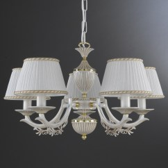 Light Fixture Deutsch 4 Wire Z Wave Thermostat 5 Lights Old White Brass Chandelier With Lamp Shades