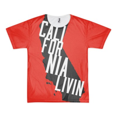 California Livin – short sleeve men's t-shirt (unisex)