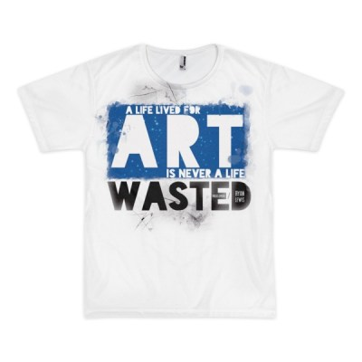 A Life Lived for Art – short sleeve all over t-shirt (unisex)