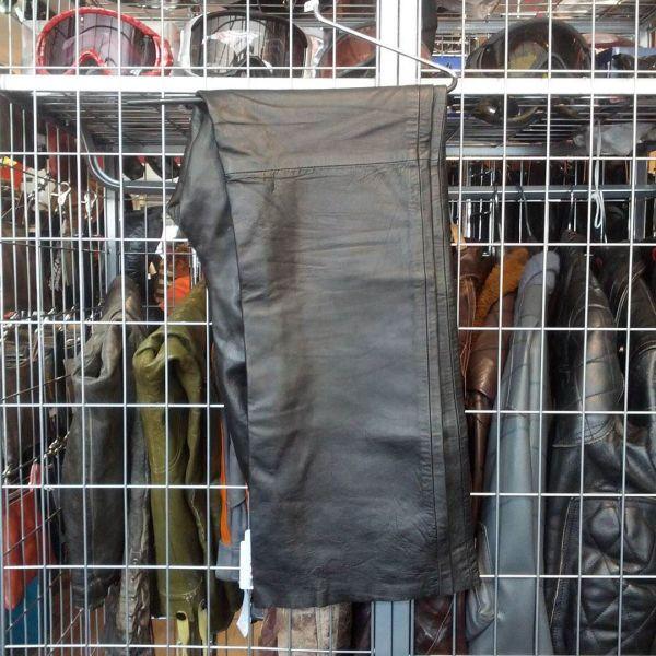 INC Leather Dress Pant PANTS 10336 ( Size 10 )