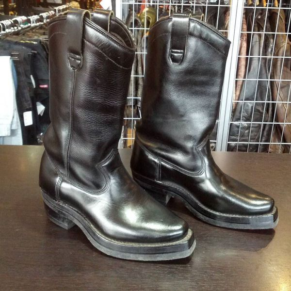 DAYTON Leather Black Beauty BOOTS 10658