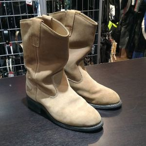 TEXAS STEER Leather Harness BOOTS 13878