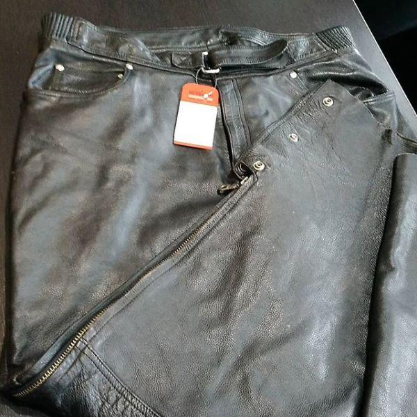 ROADKROME Leather Riding PANTS 14438 ( Size XL )