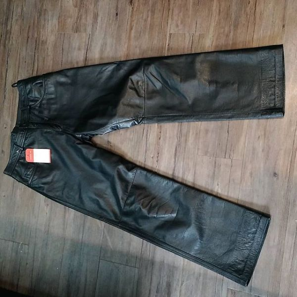 "DANIER Leather Jean style PANTS 14627 ( Size 30"" )"