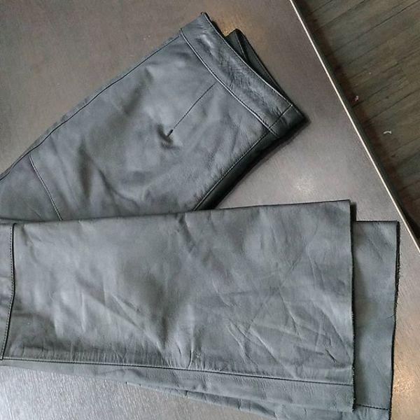 DAVIDA Leather Riding PANTS 15232 ( Size 10 W )