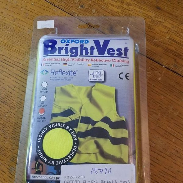 OXFORD Textile Bright Vest VEST 15490 ( Size XL-XXL )