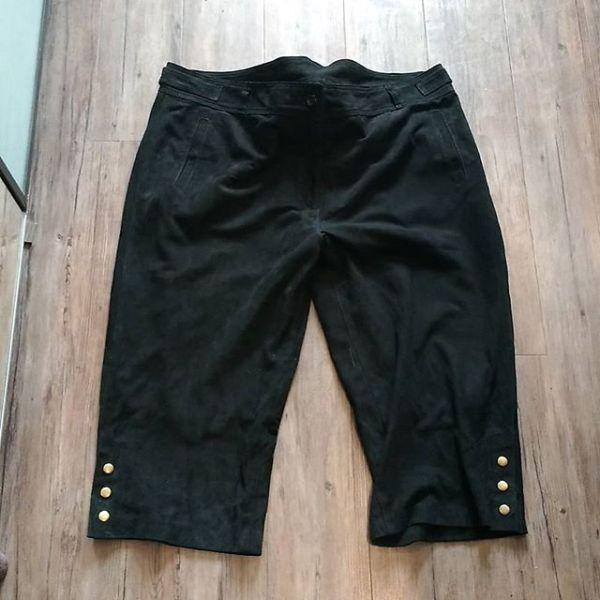 UNBRANDED Suede Breachers PANTS 18119 ( Size 46 )