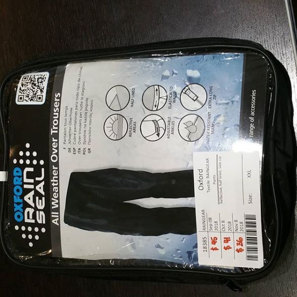 OXFORD Textile Pants RAINGEAR 18385 ( Size XXL )