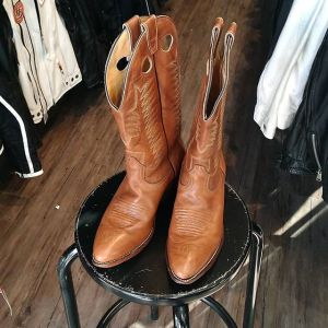 BOULET Leather Western BOOTS 19754