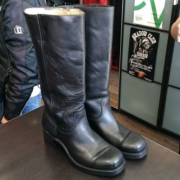 DOUBLE H Leather Campus BOOTS 20280