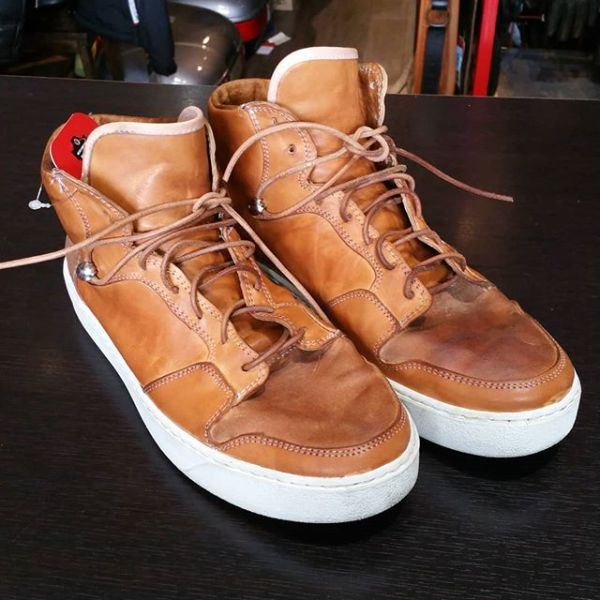 CRUDE Leather High Tops BOOTS 21905