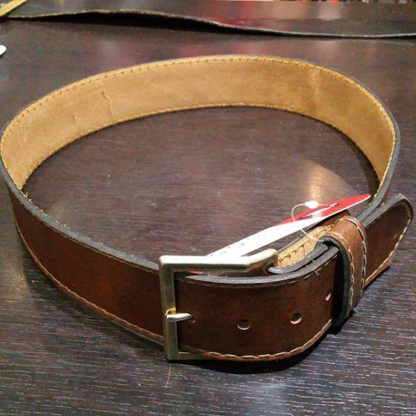 """UNBRANDED Leather BELT ACCESSORY 21985 ( Size 35"""" )"""