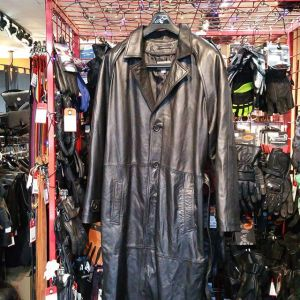 """Wilsons Leather Trench COAT 21999 ( Size 48"""" Chest )"""