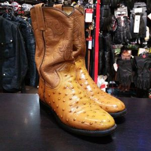 BEN MILLER Leather Western BOOTS 22298