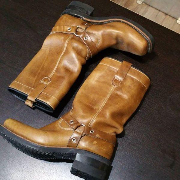 DAYTON Leather Rebel BOOTS 22506