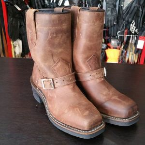 DAYTON Leather Confederate BOOTS 22735