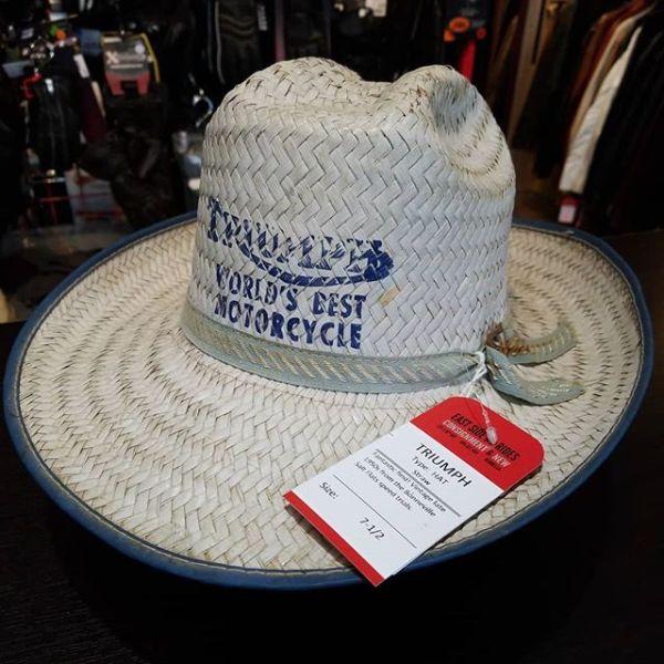 TRIUMPH Straw HAT 22882 ( Size 7-1/2 )