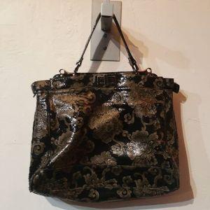 DANIER Leather Fancy BAGGAGE 22889 ( Size med )