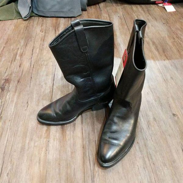 MASON Leather Western Biker BOOTS 23040