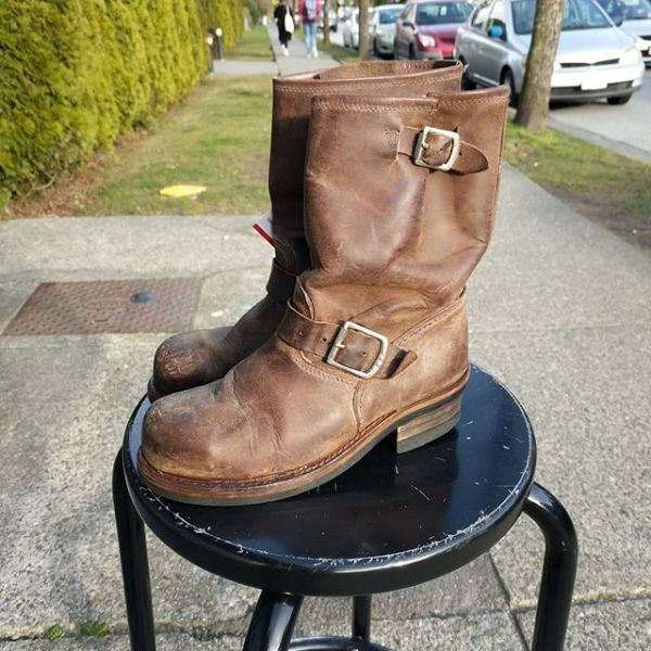 883 Leather Engineer BOOTS 23221