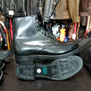 Police (Canada) Leather Service BOOTS 23465 ( Size 42.5 E )