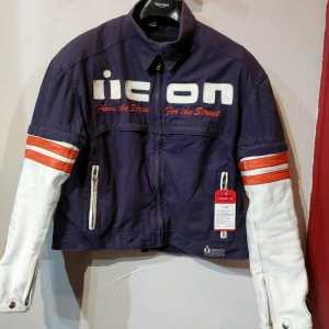 ICON Mixed Material Super Duty JACKET 23509 ( Size Lrg m 45 Short )