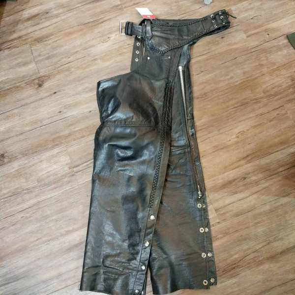ADNAN Leather Riding CHAPS 23523 ( Size 20 )