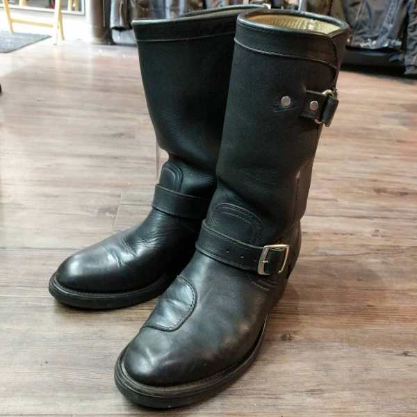 BOULET Leather Engineer BOOTS 23534 ( Size 39.5 )