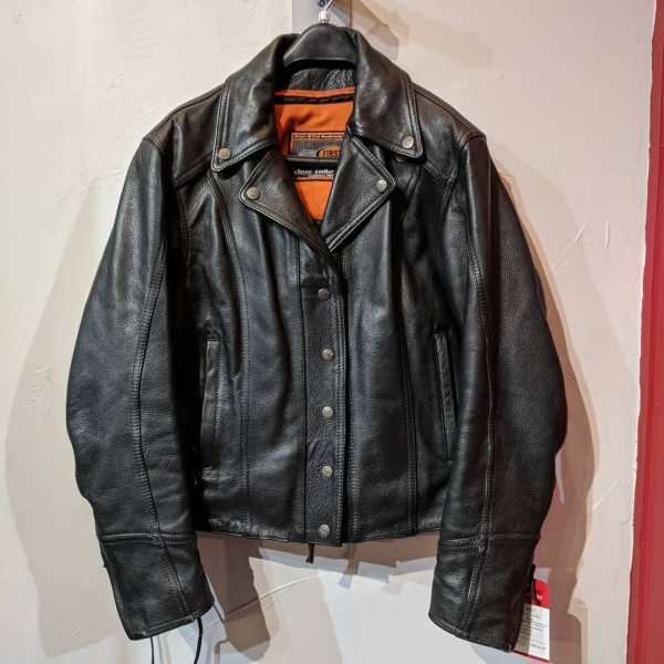 "FIRST Leather Riding JACKET | 23699 ( Size: LRG w 41"" )"
