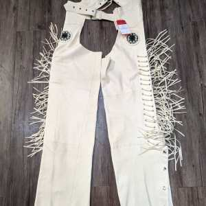 """SHAF Leather Western CHAPS   23752   Size: 23"""""""