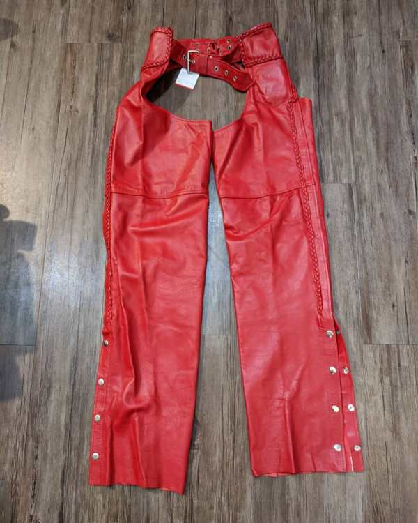 """BOUTIQUE OF LEATHERS Leather Classic CHAPS   23754   Size: 24"""""""
