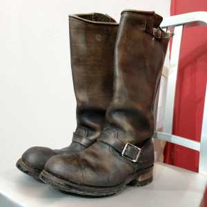 BIKE BOOTS Leather Engineer BOOTS | 24071