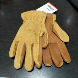BUFFALO MOTO Leather Wrist Length GLOVES | 24143