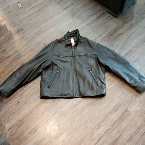 EDDIE BAUER Leather Fashion JACKET | 24149
