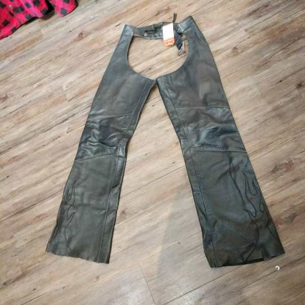 POWER TRIP Leather Riding CHAPS | 24162